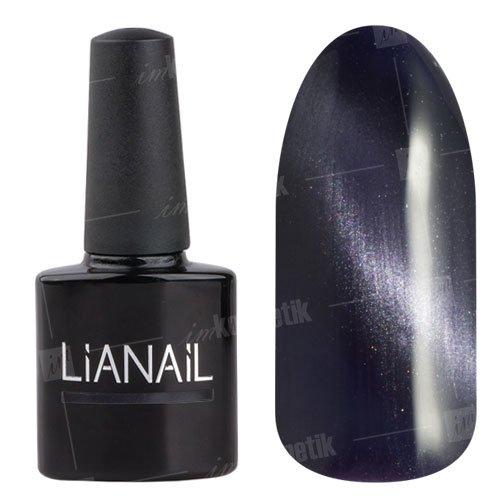 Lianail, Гель-лак эффект кошачий глаз - Британская кошка CESO-008 (10 мл.)Lianail<br>Гель-лаккошачий глаз,серо-дымчатый, плотный<br>