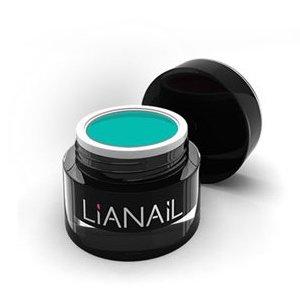 Lianail, Гелевая краска для объемных дизайнов - Интуиция MTCG-030 (5 мл.)Гель краски Lianail<br>Гелевая краска для объемных дизайнов Интуиция, бирюзовая,с липким слоем<br>