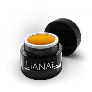Lianail, Гелевая краска для объемных дизайнов - Знамение MTCG-032 (5 мл.)Гель краски Lianail<br>Гелевая краска для объемных дизайнов Знамение, оранжевая,с липким слоем<br>
