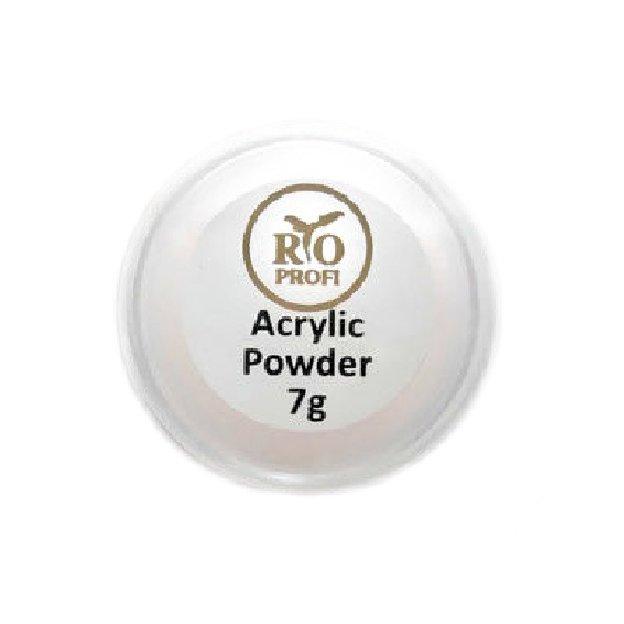 Rio Profi, Акриловая пудра прозрачно-розовая (7 гр.)Акриловая пудра Rio Profi<br>Акриловая пудра прозрачно-розовая<br>