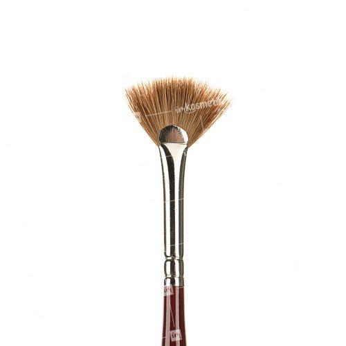 Roubloff, Кисть веерная из волоса колонка №00 DK73RКисти для дизайна<br>Roubloff, Кисть веерная из волоса колонка №00 DK73Rдля росписи ногтей.<br>