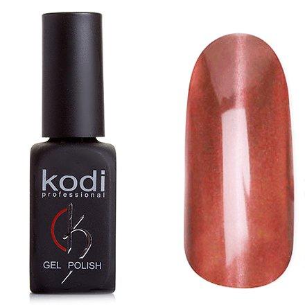 Kodi, Гель-лак Кошачий глаз № 761 (8ml)Kodi Professional <br>Магнитный гель-лак темно-персиковый, плотный, 8 мл.<br>