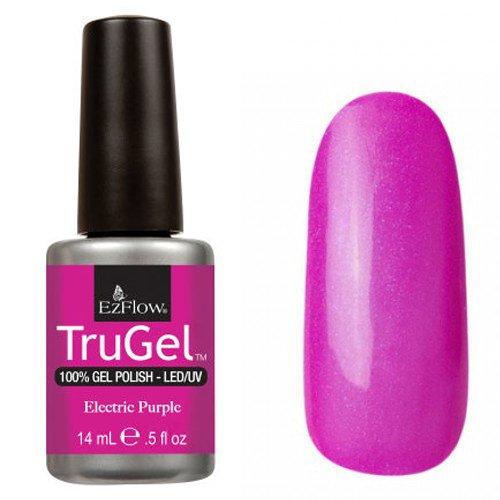 EzFlow TruGel 42281 - Electric Purple 14 mlEzFlow TruGel<br>Эластичный растворяемый гелевый лак EzFlow TruGel, яркий малиновый c очень легким микроблеском.<br>