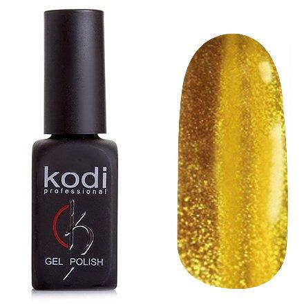Kodi, Гель-лак Кошачий глаз № 804 (8ml)Kodi Professional <br>Магнитный гель-лак золотистого цвета, плотный, 8 мл.<br>