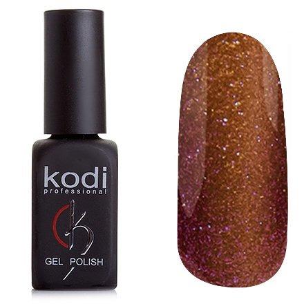 Kodi, Гель-лак Кошачий глаз № 810 (8ml)Kodi Professional <br>Магнитный гель-лак коричневого цвета, плотный, 8 мл.<br>