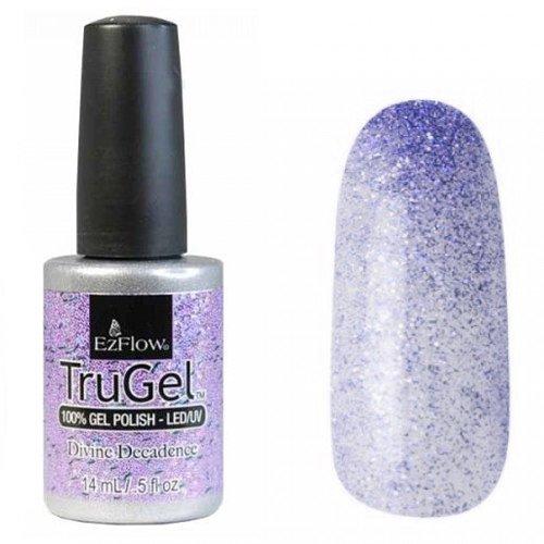 EzFlow TruGel 42333 - Divine Decadence 14 mlEzFlow TruGel<br>Эластичный растворяемый гелевый лак EzFlow TruGel, фиолетово-синий оттенок с шиммером.<br>