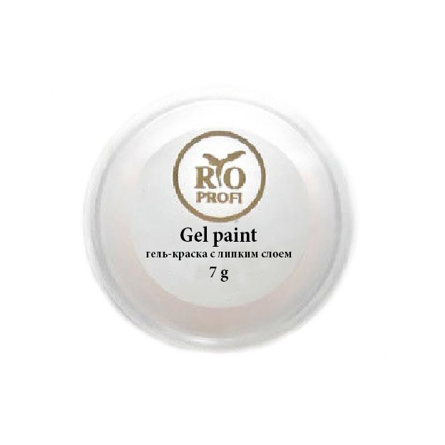 RIO Profi, Гель-краска с липким слоем - Черное Золото №41 (7гр)Гель краски RIO Profi<br>Гель-краска с липким слоем, черное Золото<br>