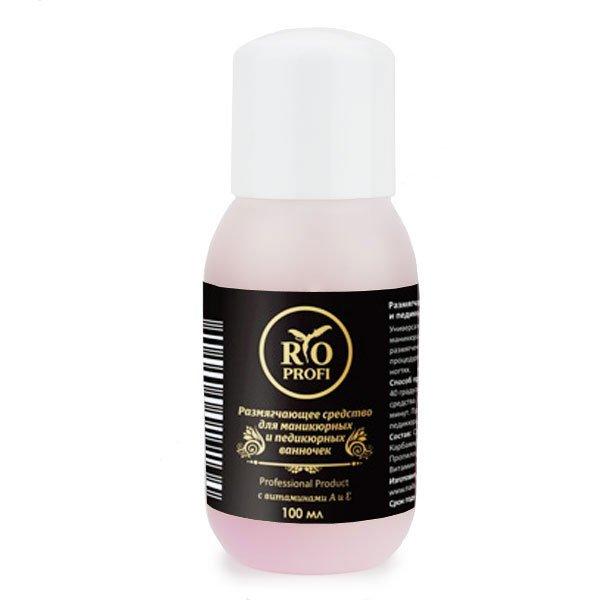 Rio Profi, Жидкое лезвие для ванночек (100 мл.)Средства для педикюра<br>Жидкое лезвие для ванночек<br>