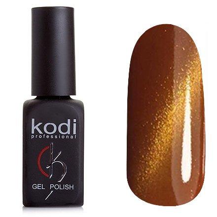 Kodi, Гель-лак Кошачий глаз № 834 (8ml)Kodi Professional <br>Магнитный гель-лак светло-коричневого цвета, плотный, 8мл.<br>