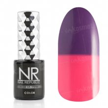 Nail Republic, Гель-лак - Thermo color №600 (10 мл.)