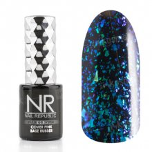 Nail Republic, Гель-лак - Galaxy blue-green №3 (10 мл.)