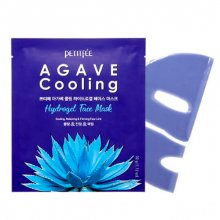 PetitFee, Agave Cooling Hydrogel Face Mask - Гидрогелевая маска для лица (агава, 1 шт.)