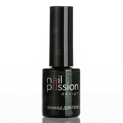 Nail Passion, Финиш для гель-лака (10 мл.)Nail Passion<br>Финишное глянцевое покрытие для гель-лака<br>