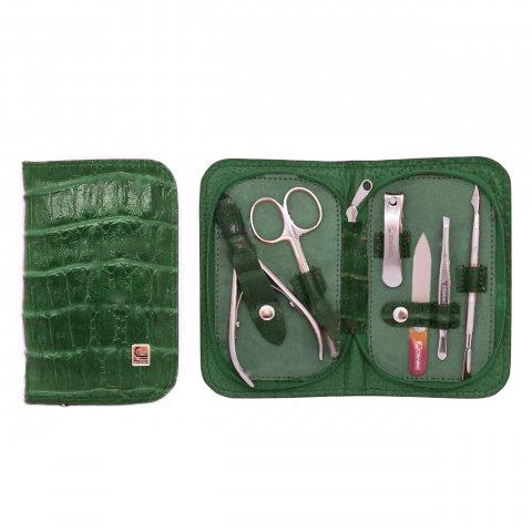 Staleks, Маникюрный набор - Универсальный НМ-10 (Черепаха Зеленая)Инструменты для педикюра<br>Маникюрный набор Универсальный НМ-10 (Черепаха Зеленая-66)<br>