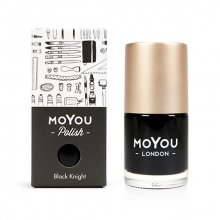 MoYou London, Лак для стемпинга Black Knight (15 мл.)