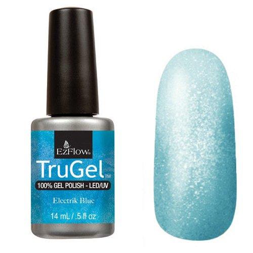 EzFlow TruGel 42482 - Electrik Blue 14 mlEzFlow TruGel<br>Эластичный растворяемый гелевый лак EzFlow TruGel, голубой перламутровыйоттенок.<br>