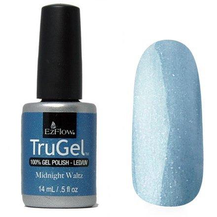 EzFlow TruGel 42508 - Midnight Waltz 14 mlEzFlow TruGel<br>Эластичный растворяемый гелевый лак EzFlow TruGel, голубой оттенок с серебряными блестками.<br>