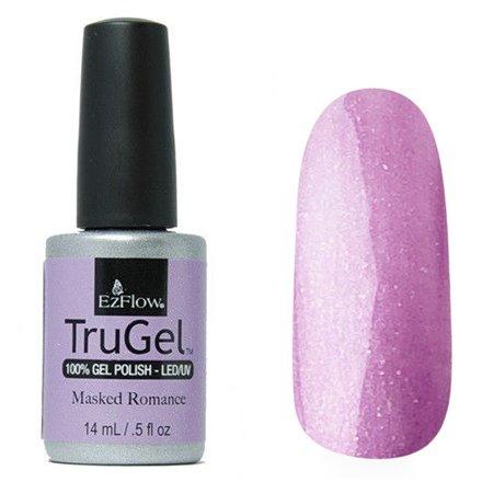 EzFlow TruGel 42509 - Masked Romance 14 mlEzFlow TruGel<br>Эластичный растворяемый гелевый лак EzFlow TruGel, лиловый оттенок с серебряными блестками.<br>