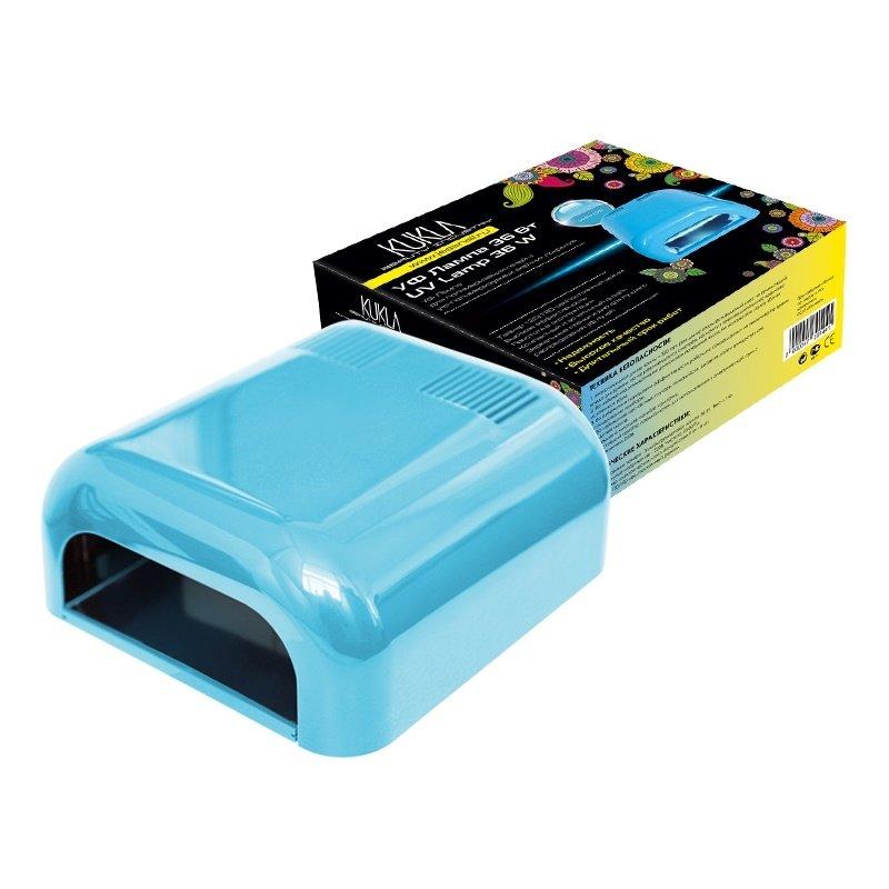 JessNail KUKLA, УФ лампа 36 Вт (голубая, глянцевая)УФ-Лампы<br>Профессиональная ультрафиолетовая лампа мощностью 36 Ватт.<br>