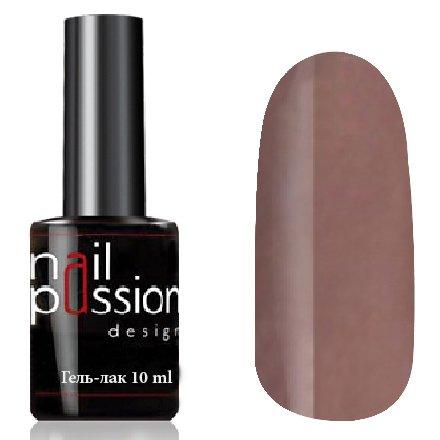 Nail Passion, Гель-лак - Ароматный кофе 2005 (10 мл.)Nail Passion<br>Гель-лак,коричнево-серый, эмалевый, плотный<br>