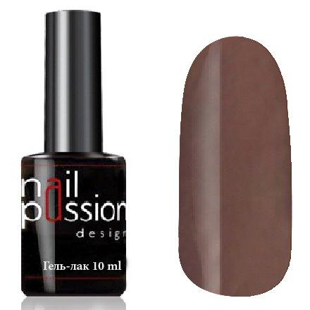 Nail Passion, Гель-лак - Шоколадный маффин 2007 (10 мл.)Nail Passion<br>Гель-лак,темный коричнево-серый, эмалевый, плотный<br>