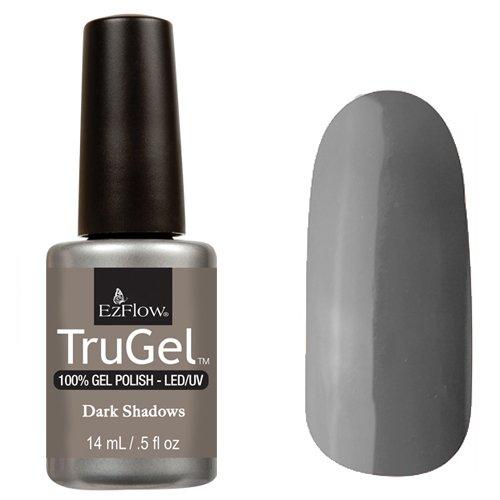 EzFlow TruGel 42552 - Dark Shadows 14 mlEzFlow TruGel<br>Эластичный растворяемый гелевый лак EzFlow TruGel, светло-пепельный оттенок.<br>