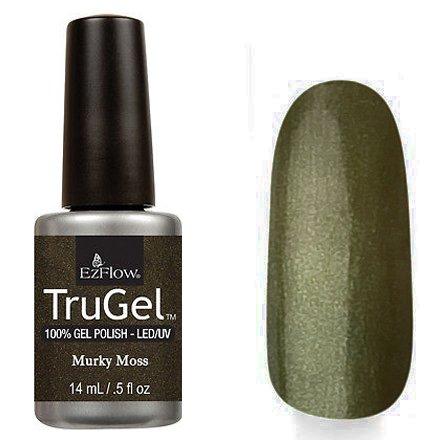 EzFlow TruGel 42553 - Murky Moss 14 mlEzFlow TruGel<br>Эластичный растворяемый гелевый лак EzFlow TruGel, серо-зеленоватый оттенок с шиммером.<br>