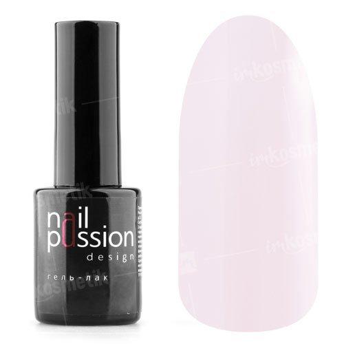 Nail Passion, Гель-лак - Розовый ажур 3002 (10 мл.)Nail Passion<br>Гель-лак,розовый полупрозрачный камуфляж для французского маникюра<br>