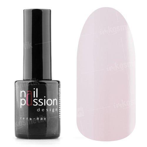 Nail Passion, Гель-лак - Френч-шик 3004 (10 мл.)Nail Passion<br>Гель-лак,розовый полупрозрачный камуфляж для французского маникюра<br>
