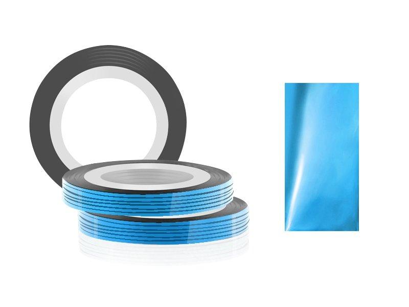 Jessnail, Фольга для дизайна в рулонах 20м*0,8мм №11, светло-голубой/Pale blue