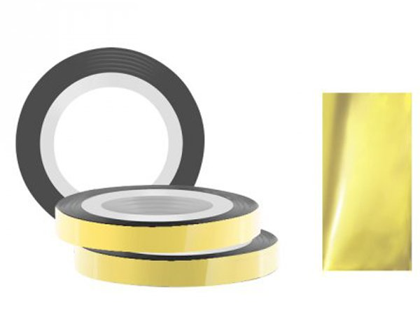 Jessnail, Фольга для дизайна в рулонах 20м*8мм №14, светло-бронзовый - Light bronzeСамоклеющаяся лента для дизайна ногтей<br>Фольга для дизайна в рулонах 20м*8мм №14, светло-бронзового цвета<br>