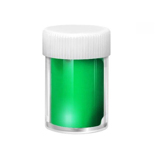 Jessnail, Фольга переводная в баночке №A23 (Green Peace) 1,5м