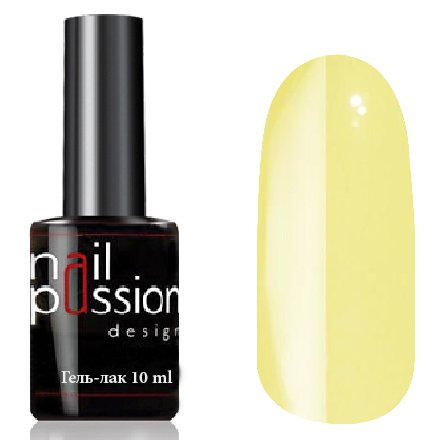 Nail Passion, Гель-лак - Солнечный луч 9009 (10 мл.)Nail Passion<br>Гель-лак, светло-желтый, эмалевый, плотный<br>