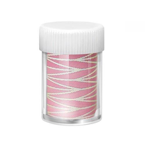 """Jessnail, Фольга переводная в баночке №В13 (Розовый флирт) 1,5мФольга отрывная<br>Для создания эффектного дизайна ногтей, а также для дизайна в технике """"литьё"""".<br>"""