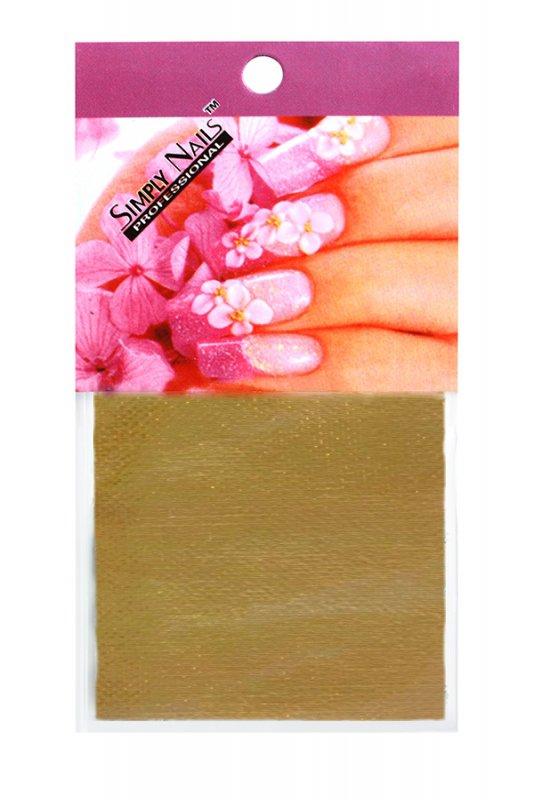 Simply Nails, Шелк для дизайна (Золото)Шелк для дизайна<br>Идеально подходит для создания роскошного дизайна.<br>