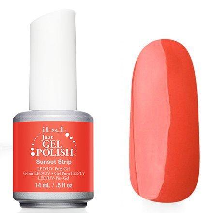 56787 Sunset Strip, IBDIBD Just Gel<br>Оранжево-розовый оттенок.<br>