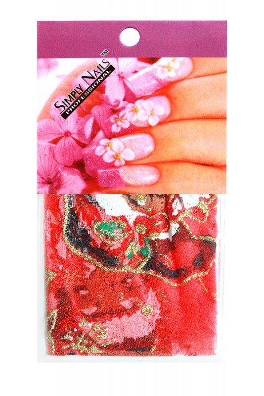 Simply Nails, Шелк для дизайна (Дед Мороз)Шелк для дизайна<br>Идеально подходит для создания роскошного дизайна.<br>