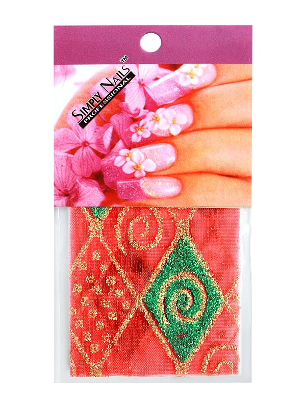 Simply Nails, Шелк для дизайна (Турецкий ромб)Шелк для дизайна<br>Идеально подходит для создания роскошного дизайна.<br>