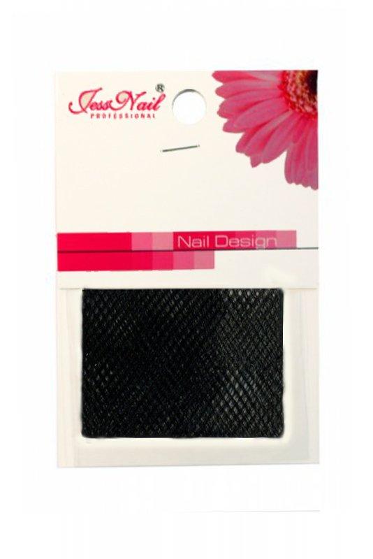 Jessnail, Шелк для дизайна в пакете ВН-06 (Черный)