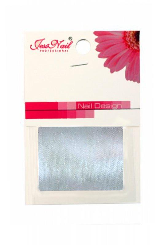 Jessnail, Шелк для дизайна в пакете ВН-02 (Серебро)