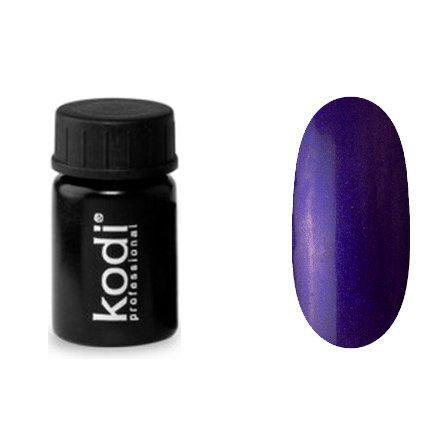 Kodi, Гель-краска №148 (4ml)Гель краски Kodi Professional<br>Гель-краска для дизайна без липкого слоя фиолетовый, с синим перламутром, 4 мл.<br>