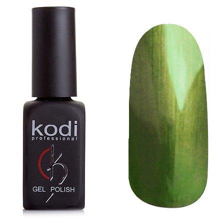 Kodi, Гель-лак Кошачий глаз № 822 (8ml)Kodi Professional <br>Магнитный гель-лак травяной, перламутровый, плотный, 8мл.<br>