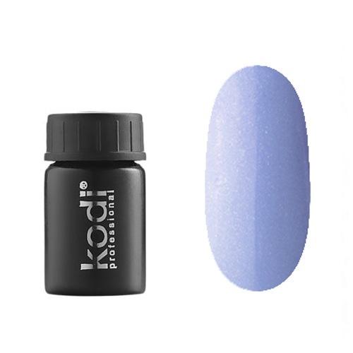 Kodi, Гель-краска №154 (4ml)Гель-краски Kodi Professional<br>Гель-краска для дизайна без липкого слоя голубая, с блестками, плотная, 4 мл.<br>