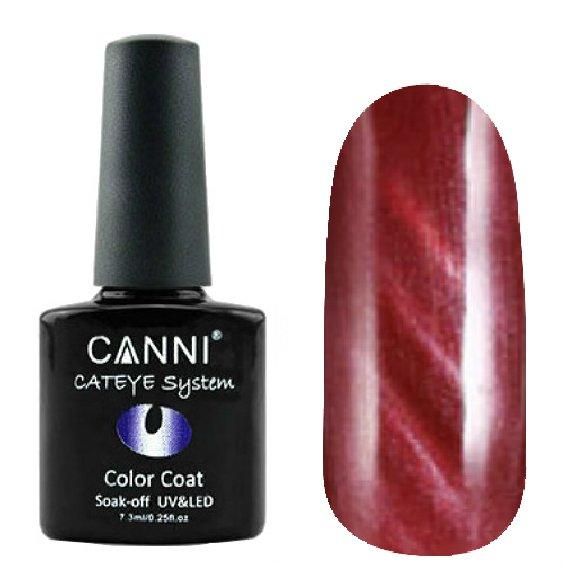 Canni, Cat Eye Color Coat - Магнитный гель лак №292 (7.3 мл)Canni<br>Магнитный гель лак,красный, перламутр, плотный<br>