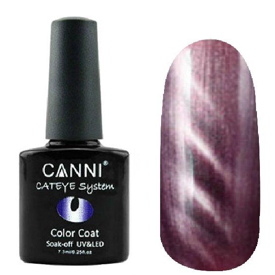 Canni, Cat Eye Color Coat - Магнитный гель лак №299 (7.3 мл)Canni<br>Магнитный гель лак,красный агат, перламутр, плотный<br>