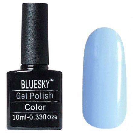 Bluesky Gel Polish, цвет №P04Bluesky 10 мл<br>Гель-лак небесно голубой.<br>