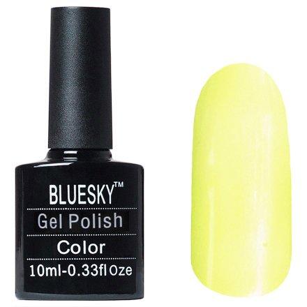 Bluesky Gel Polish, цвет P#14Bluesky 10 мл<br>Гель-лак желтый.<br>