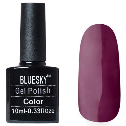 Bluesky Gel Polish, цвет W#27Bluesky 10 мл<br>Гель-лак сливовый.<br>