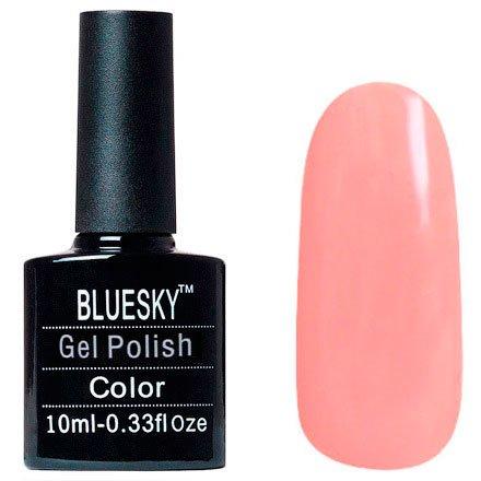 Bluesky Шеллак, цвет №040Bluesky 10 мл<br>Гель-лак нежно-персиковый, плотный.<br>