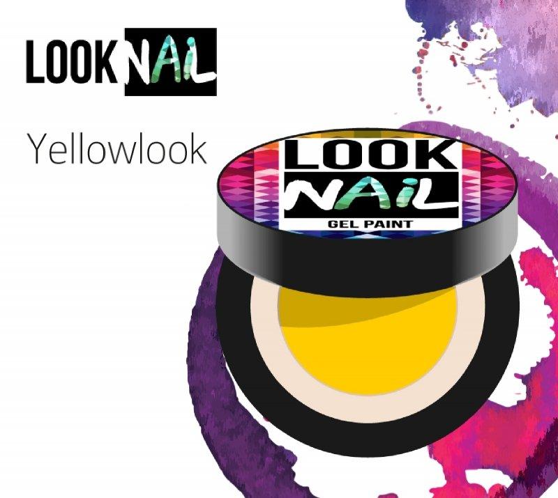 Look Nail, Гель-краска - Yellowlook (Желтый, 5 ml)Гель краски Look Nail<br>Гель-краска, ярко желтого цвета без остаточной липкости<br>